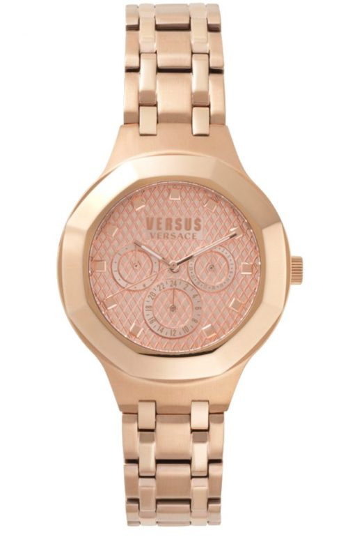 VERSUS VERSACE LAGUNA CITY ROSE GOLD STAINLESS STEEL BRACELET