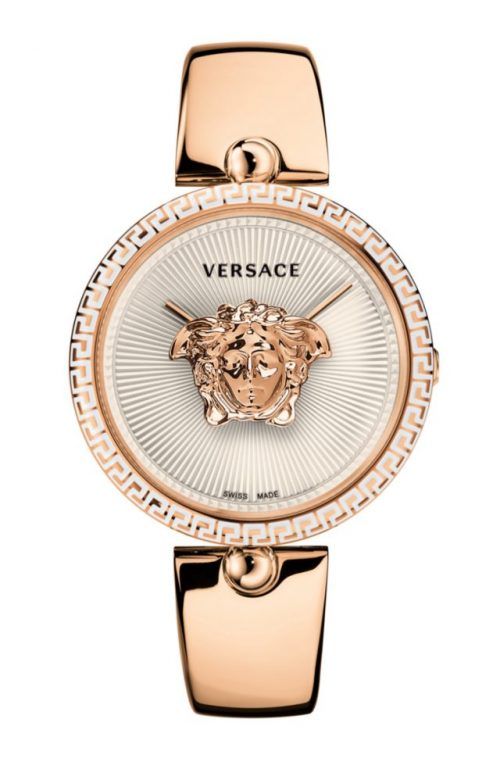 VERSACE PALAZZO EMPIRE ROSE GOLD STAINLESS STEEL BRACELET