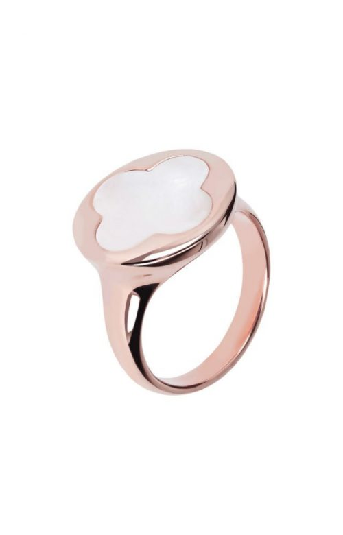 BRONZALLURE ALBA CULTURED MOP SHINY RING